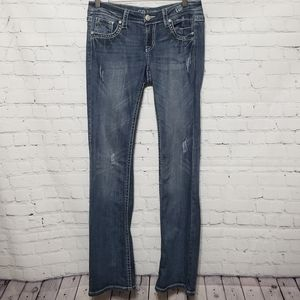 Grace In LA Sz 28 Boot Cut Jeans